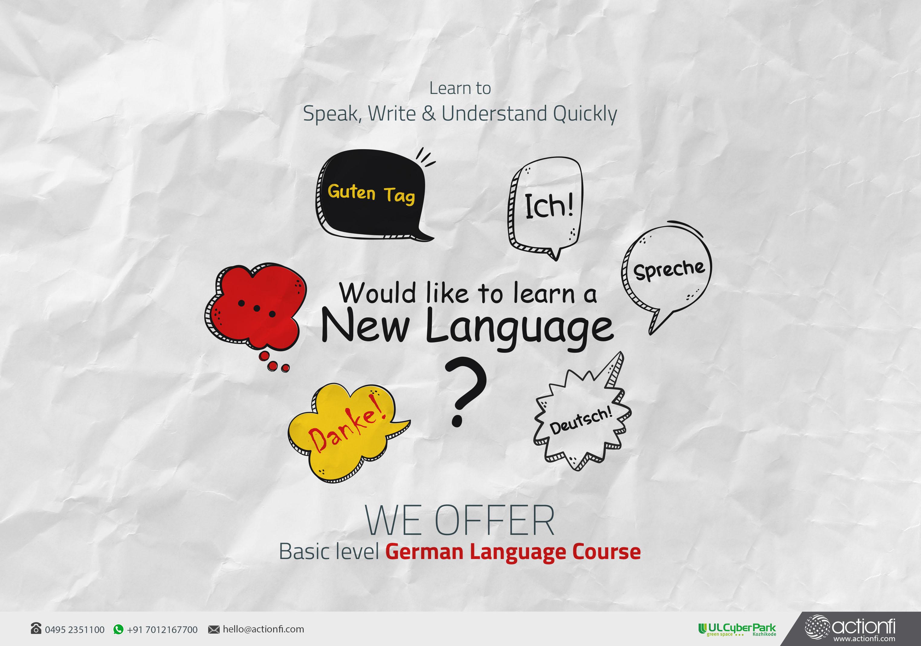 Geraman language basic